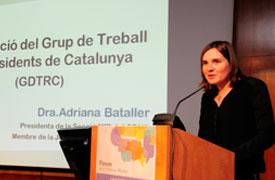 Dr. Adriana Bataller, Presidenta Secció MIR