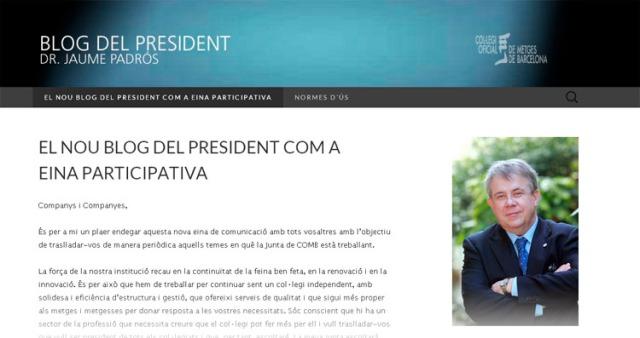 Blog del president